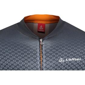 Löffler Pro Vent Bike Jersey Full-Zip Herren anthrazit/orange